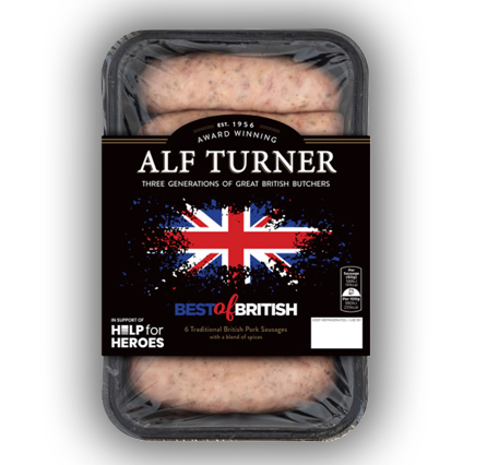 Best of British Traditional Pork Sausage
